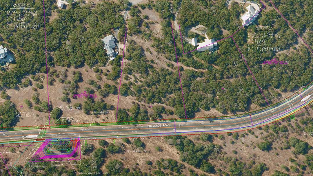 Bexar county bulverde road