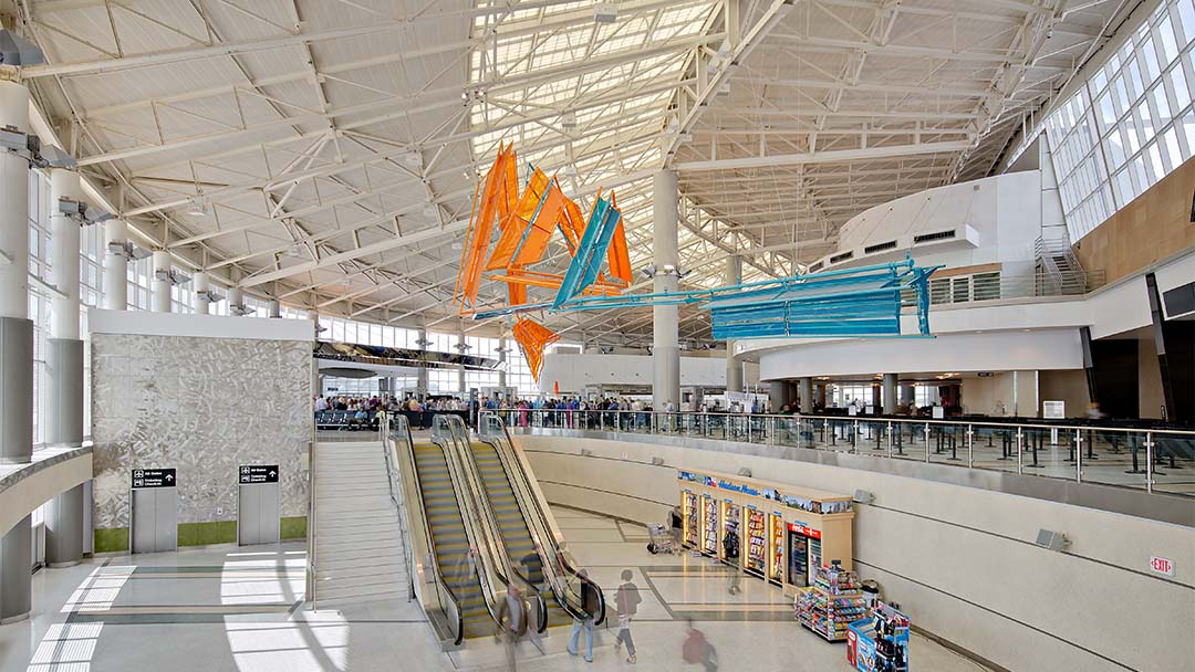 airport terminal-William P. Hobby airport