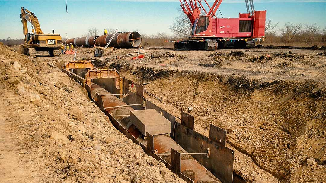 Tarrant Richland-Chambers Pipeline Lowering