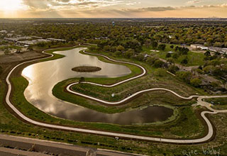 Houston-area flood-mitigation, green space project finishes first phase (Source: Houston Business Journal)