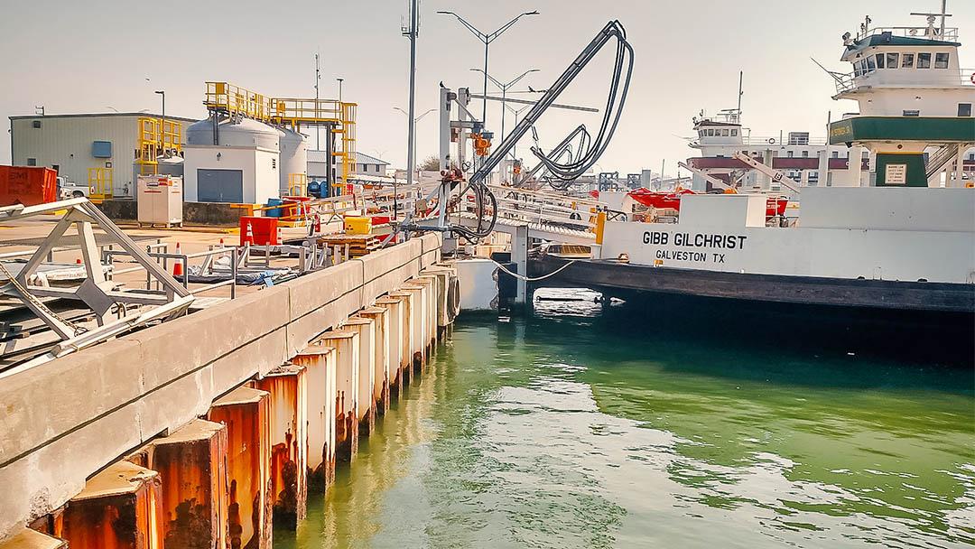 Bolivar Ferry Bulkhead Assessment & Redesign Texas Department of Transportation