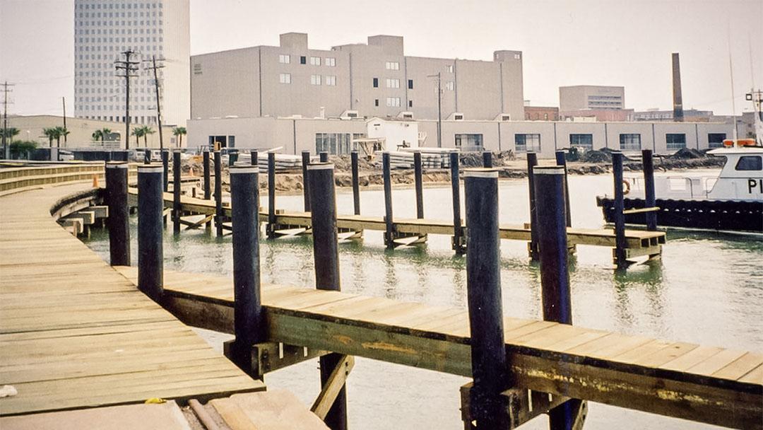 port of galveston pier 19 rehabilitation