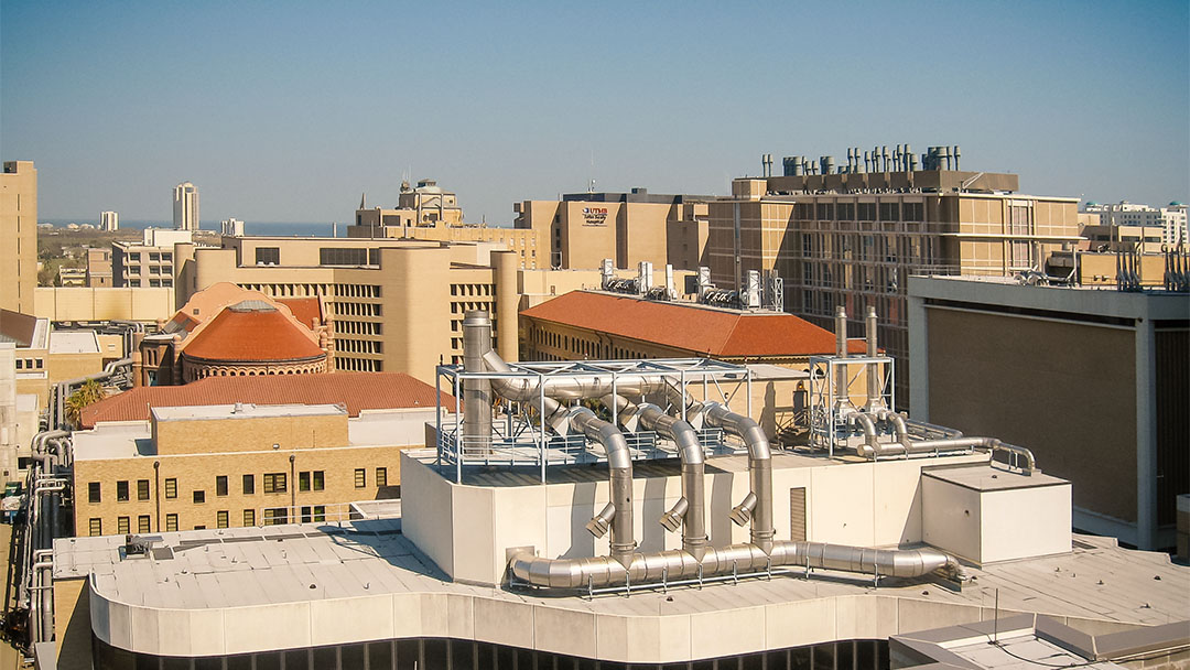 University of Texas medical branch campus view