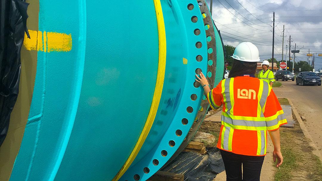 city of houston 108 inch pipeline