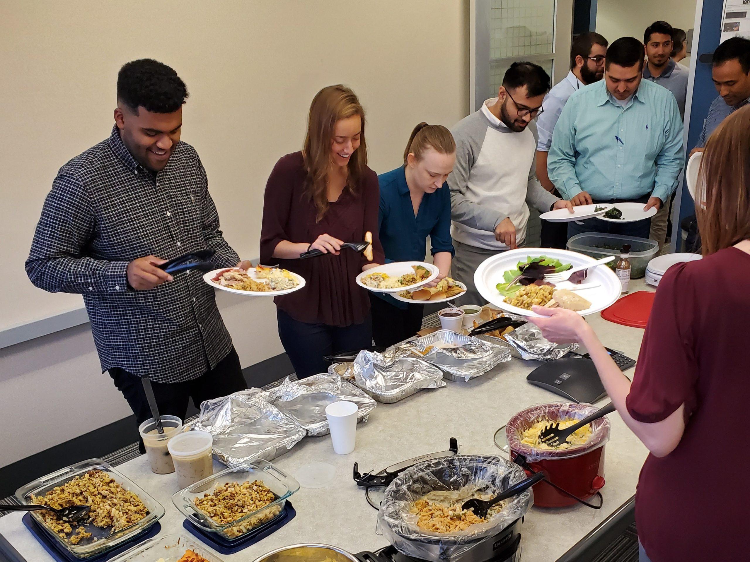LAN Thanksgiving potluck