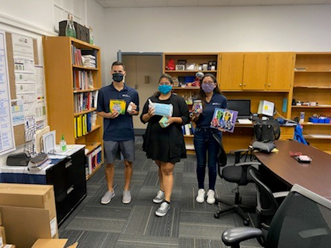 LAN donates for Dallas Back to School Supply Drive