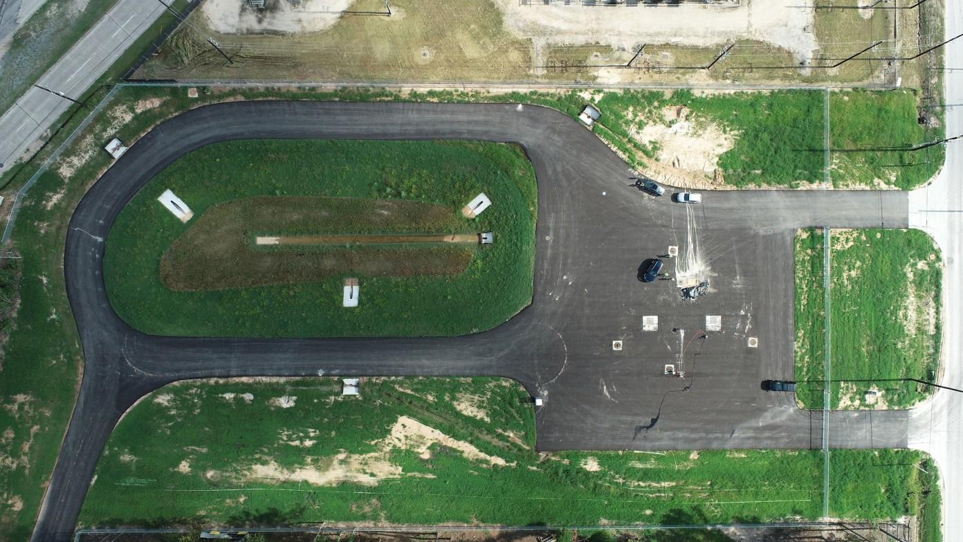 LAN drone footage