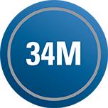 34 million 34M factoid