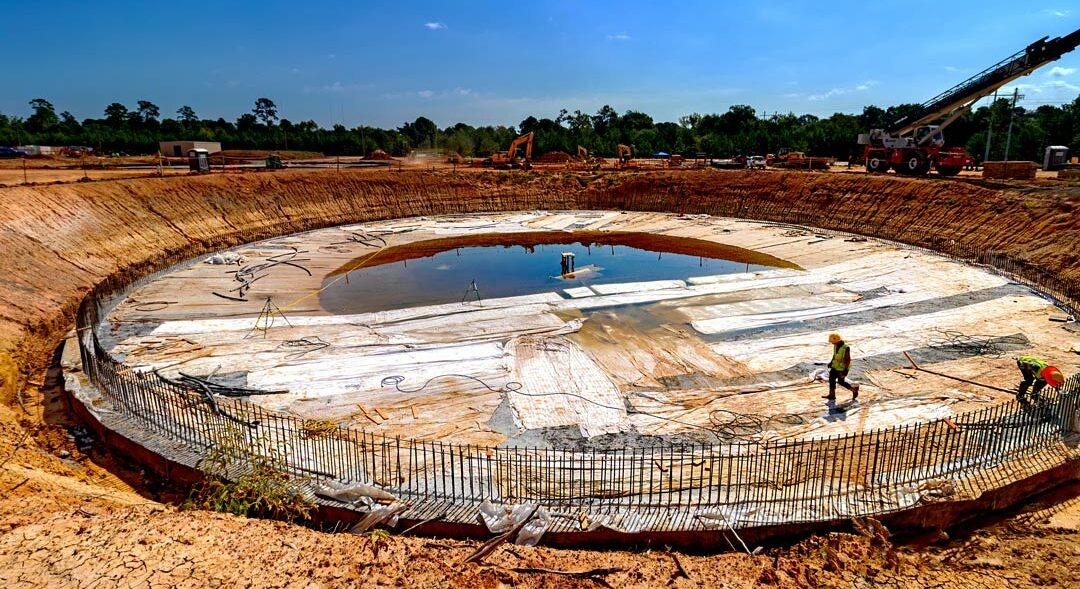 LAN Conroe Texas Wastewater Treatment Plant